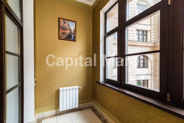 Лоджия в квартире на ул. Фадеева, д. 4А