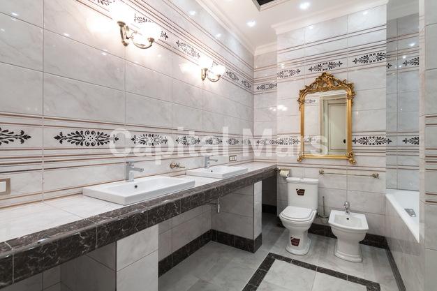 Ванная комната в квартире на ул. Фадеева, д. 4А