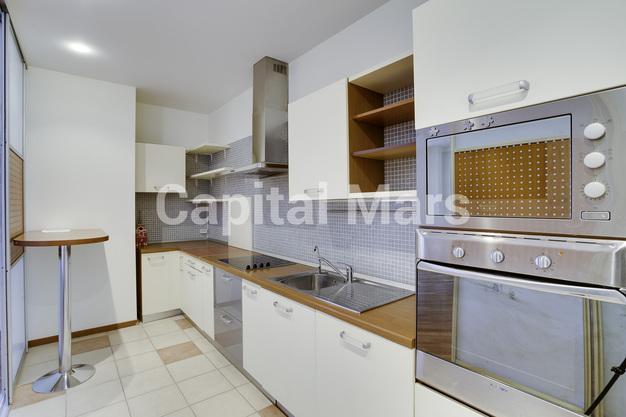 Кухня в квартире на ул. Новый Арбат, д. 29
