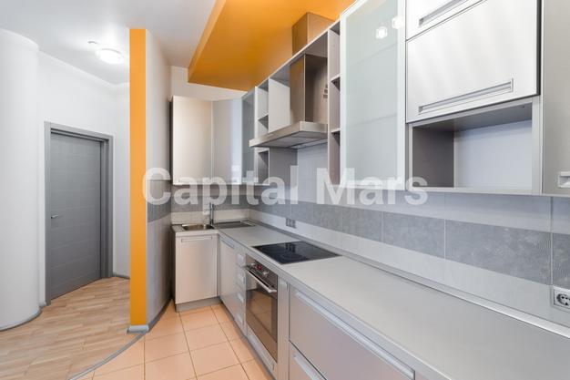 Кухня в квартире на Чапаевский пер, д. 3