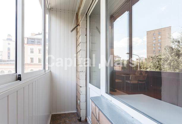 Балкон в квартире на ул. Бутырский Вал, д. 28