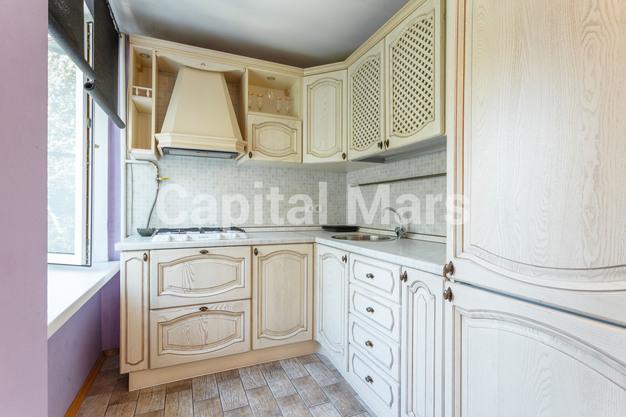 Кухня в квартире на ул. Бутырский Вал, д. 28