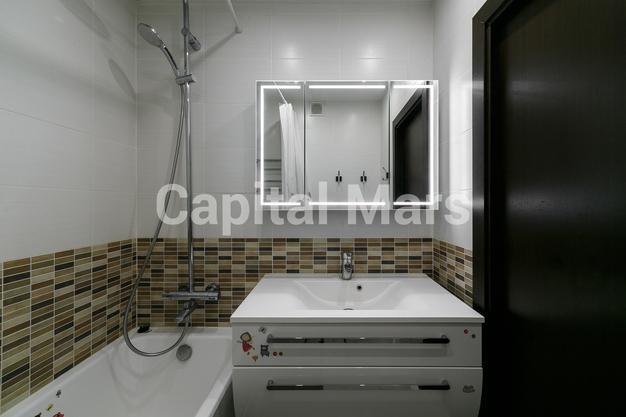 Ванная комната в квартире на ул. Лобачевского, д. 41