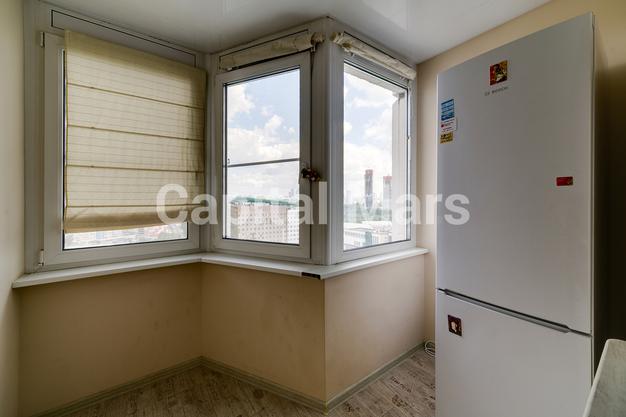 Лоджия в квартире на ул. Лобачевского, д. 41
