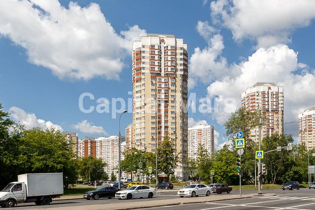 Фасад в квартире на ул. Лобачевского, д. 41