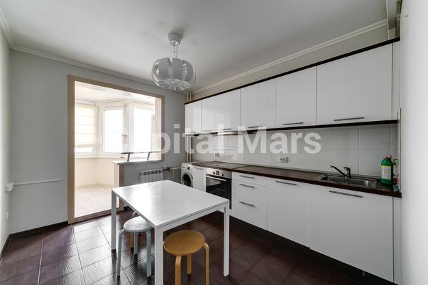Кухня в квартире на ул. Лобачевского, д. 41