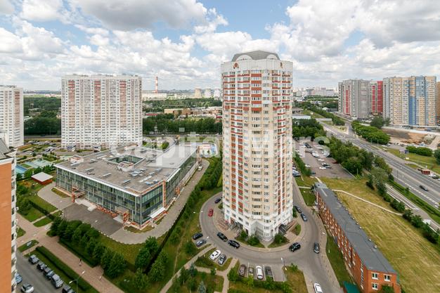 Вид из окна в квартире на ул. Лобачевского, д. 41