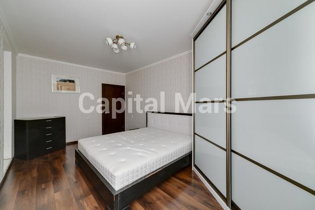 Спальня в квартире на ул. Лобачевского, д. 41