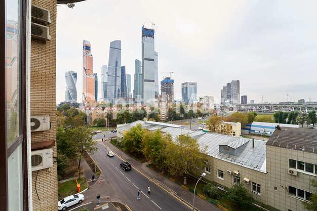 Вид из окна в квартире на ул. Красногвардейская 3-я, д. 3