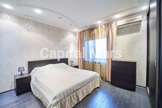 Спальня в квартире на ул. Красногвардейская 3-я, д. 3