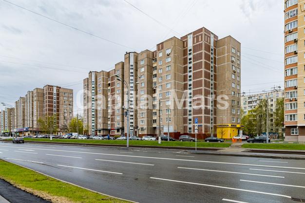 Фасад в квартире на ул. Героев Панфиловцев, д. 3