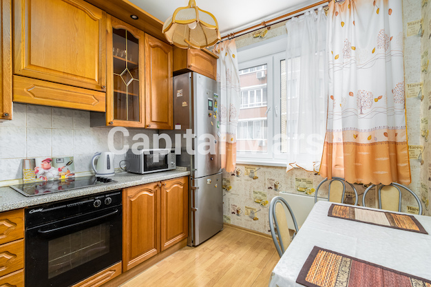 Кухня в квартире на ул. Героев Панфиловцев, д. 3