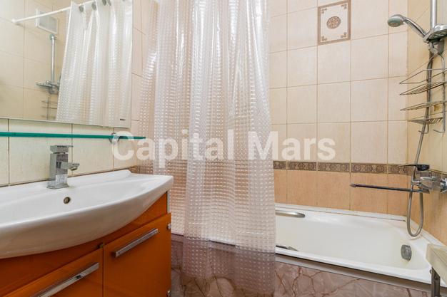 Ванная комната в квартире на ул. Героев Панфиловцев, д. 3