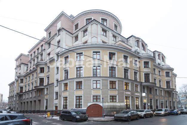 Фасад в квартире на пер. Гнездниковский Б., д. 3