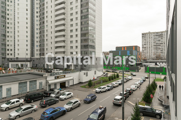 Вид из окна в квартире на проезд Нагатинский 1-й, д. 11, к. 2
