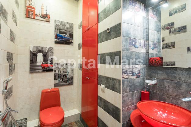Ванная комната в квартире на проезд Нагатинский 1-й, д. 11, к. 2