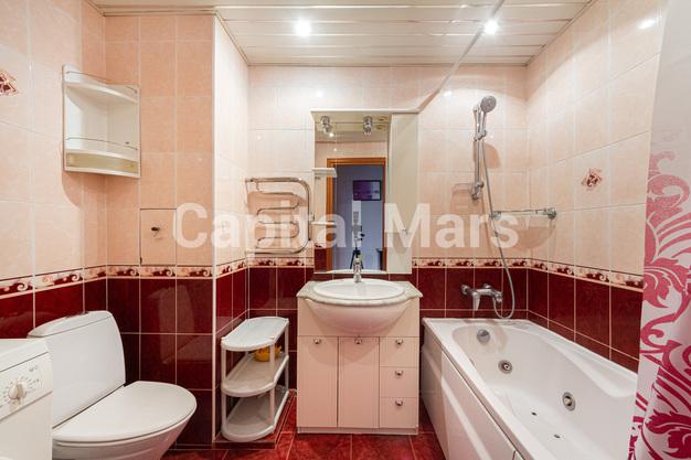 Ванная комната в квартире на ул. Лефортовский Вал, д. 11, к. 2