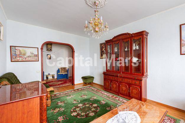 Гостиная в квартире на ул. Лефортовский Вал, д. 11, к. 2