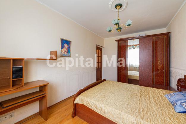 Спальня в квартире на ул. Лефортовский Вал, д. 11, к. 2