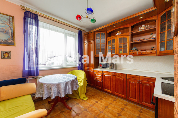 Кухня в квартире на ул. Лефортовский Вал, д. 11, к. 2