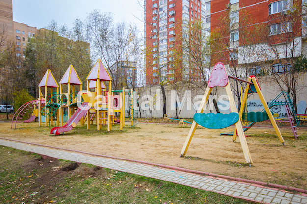 Детская площадка в квартире на ул. Молодогвардейская, д. 2, к. 2