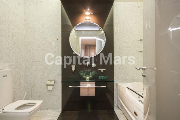 Ванная комната в квартире на ул. Молодогвардейская, д. 2, к. 2