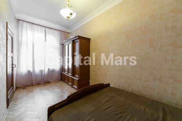 Спальня в квартире на Козицкий пер, д. 1А