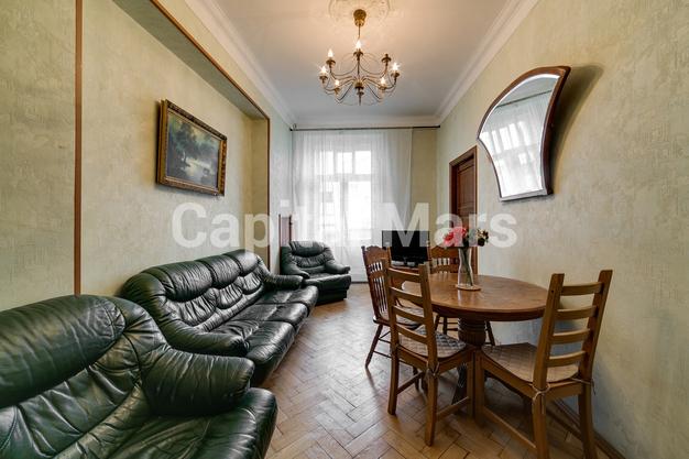 Гостиная в квартире на Козицкий пер, д. 1А