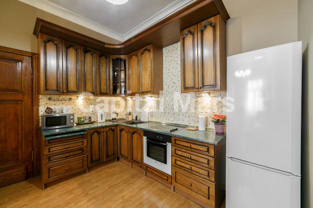 Кухня в квартире на Козицкий пер, д. 1А