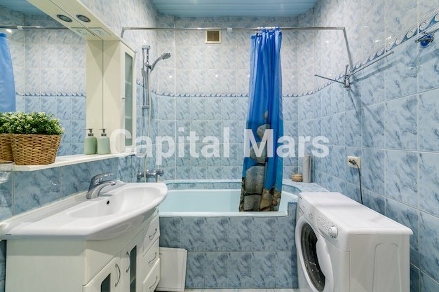 Ванная комната в квартире на Козицкий пер, д. 1А