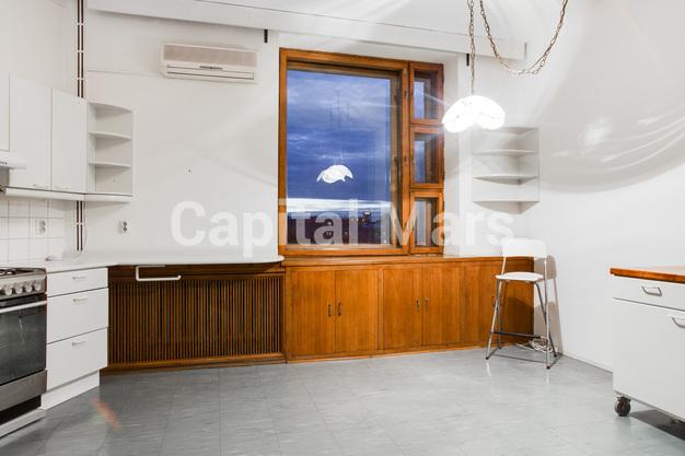 Кухня в квартире на Гранатный пер, д. 10, стр. 1
