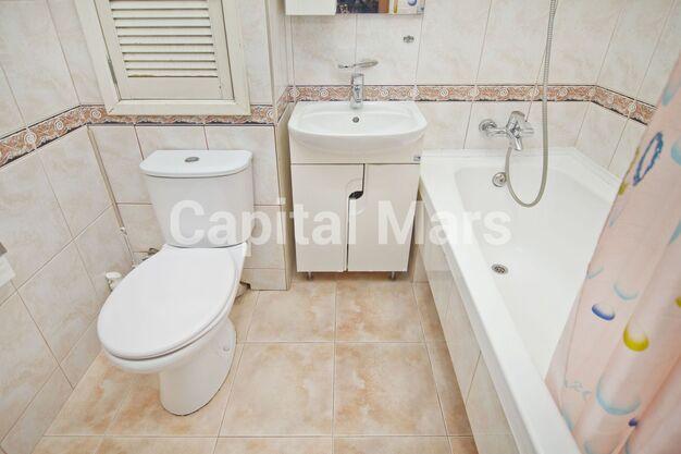 Ванная комната в квартире на ш. Варшавское, д. 158, к. 2