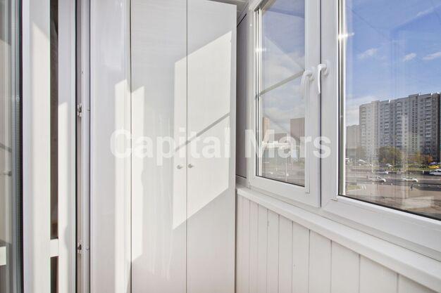 Балкон в квартире на ш. Варшавское, д. 158, к. 2