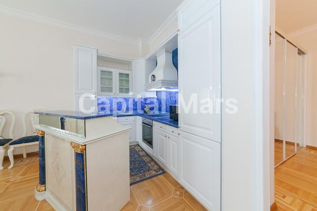 Кухня в квартире на Борисоглебский пер, д. 8, стр. 1