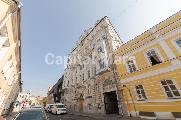 Фасад в квартире на Борисоглебский пер, д. 8, стр. 1