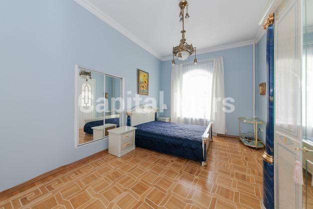 Спальня в квартире на Борисоглебский пер, д. 8, стр. 1