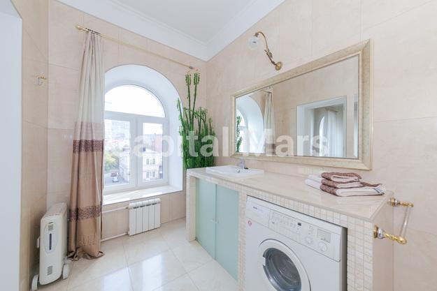 Ванная комната в квартире на Борисоглебский пер, д. 8, стр. 1