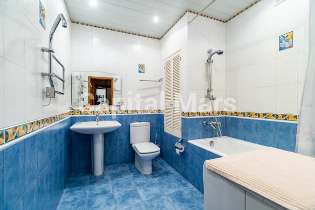 Ванная комната в квартире на ул. Зоологическая, д. 4