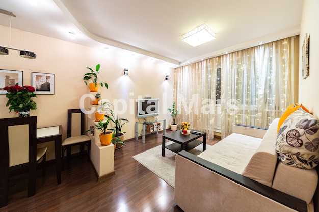 Гостиная в квартире на ул. Вешних Вод, д. 2, к. 5