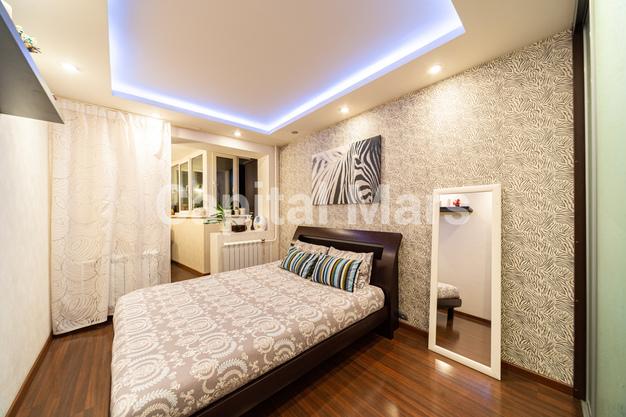 Спальня в квартире на ул. Вешних Вод, д. 2, к. 5