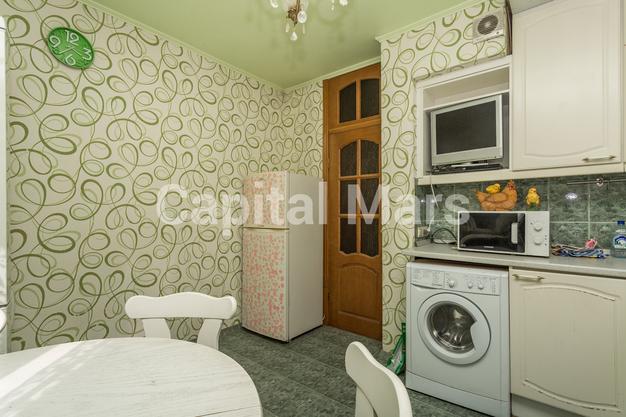 Кухня в квартире на ул Исаковского, д 4 к 2