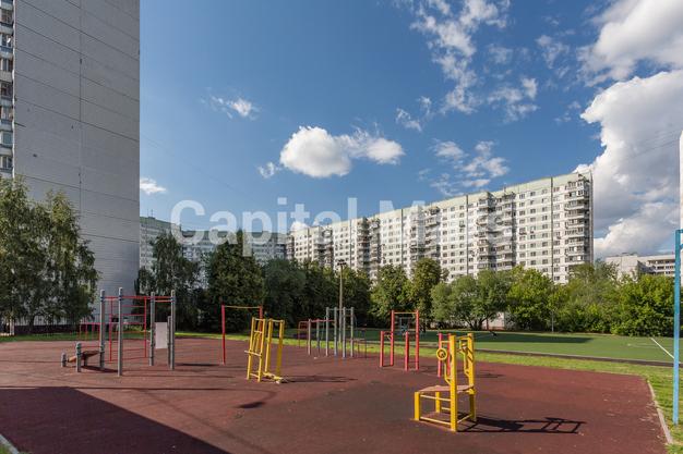 Спортивная площадка в квартире на ул Исаковского, д 4 к 2