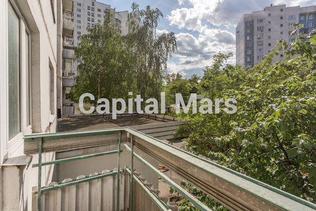 Вид из окна в квартире на ул. Исаковского, д. 4, к. 2
