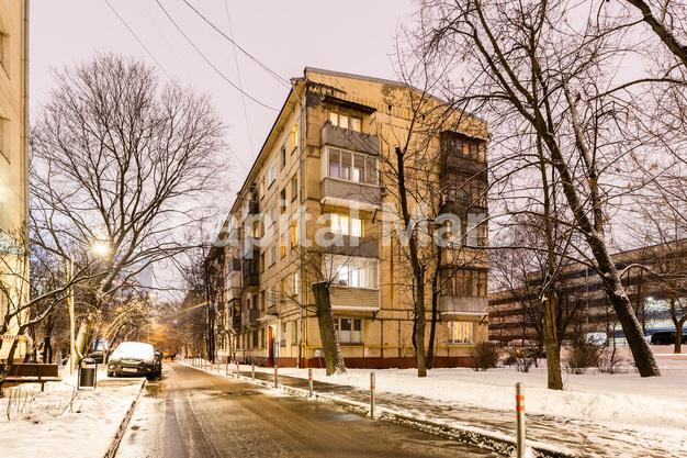 Фасад в квартире на ул. Подвойского, д. 14