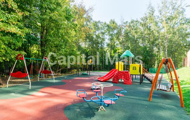 Детская площадка в квартире на ул. Академика Павлова, д. 24