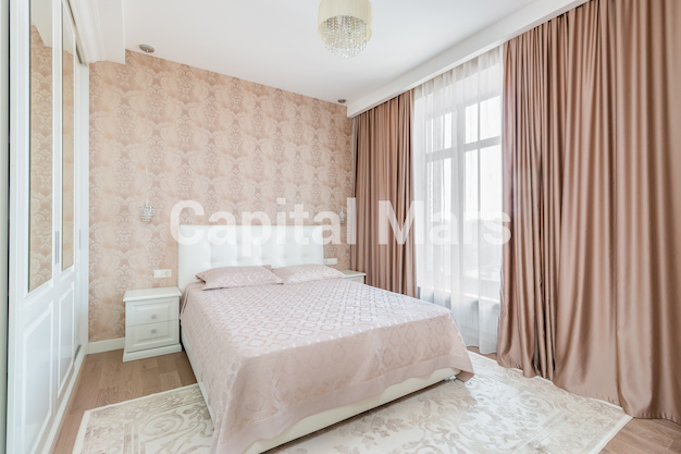 Спальня в квартире на ул. Академика Павлова, д. 24