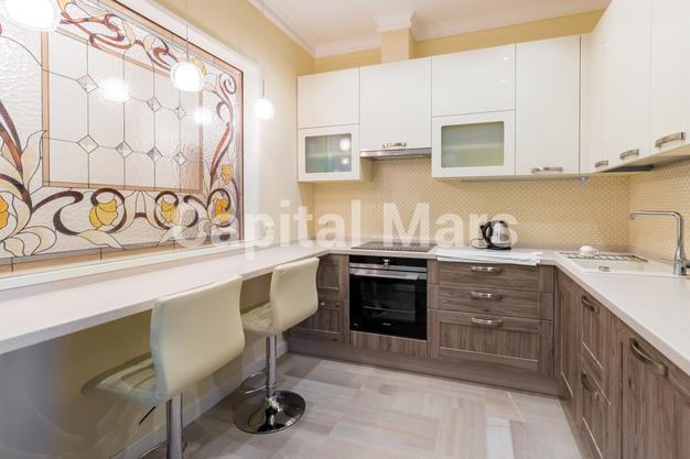 Кухня в квартире на ул. Академика Павлова, д. 24