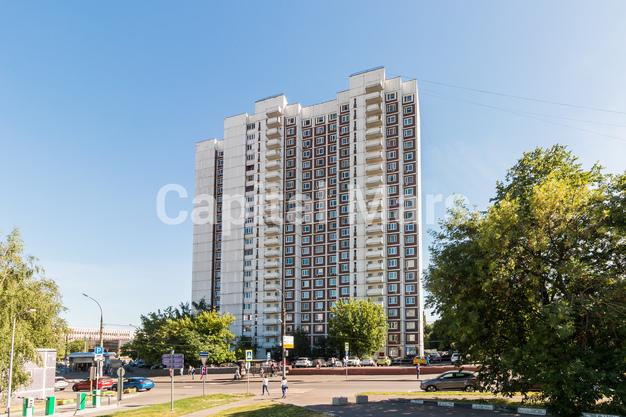 Фасад в квартире на ул. Днепропетровская, д. 1
