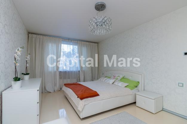 Спальня в квартире на ул. Днепропетровская, д. 1