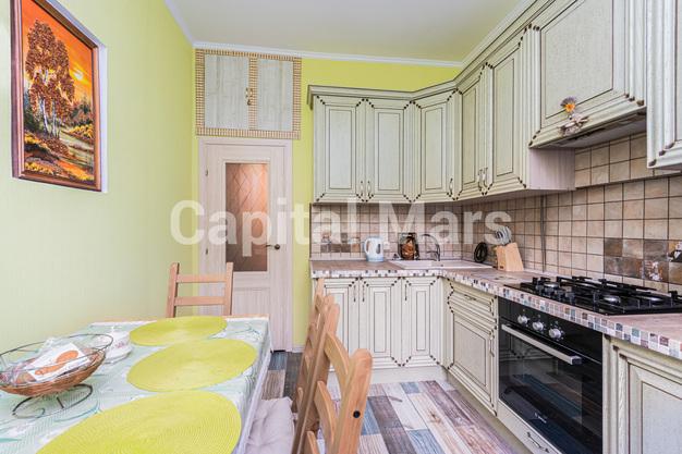 Кухня в квартире на Кутузовский пр-кт, д. 71